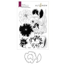 Altenew Clear Stamp And Die Build A flower - Cora Louise Peony