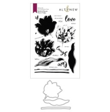 Altenew Clear Stamp And Die Build A flower - Parrot Tulips