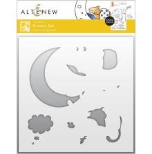 Altenew Stencil 6X6 - Dreamy Cat