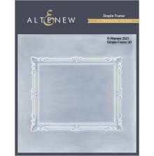 Altenew Embossing Folder - Simple Frame 3D