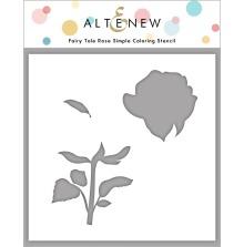 Altenew Stencil 6X6 - Fairy Tale Rose