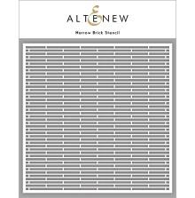 Altenew Stencil 6X6 - Narrow Brick