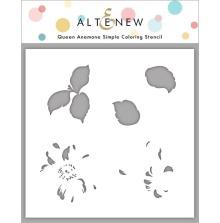 Altenew Stencil 6X6 - Queen Anemone