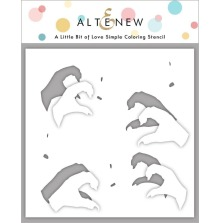 Altenew Stencil 6X6 - A Little Bit of Love