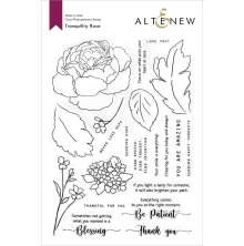 Altenew Clear Stamps 6X8 - Tranquility Rose