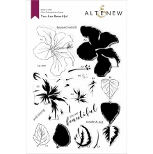 Altenew Clear Stamps 6X8 - You Are Beautiful