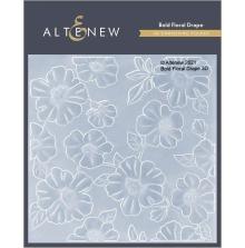Altenew Embossing Folder - Bold Floral Drape 3D