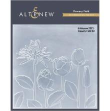 Altenew Embossing Folder - Flowery Field 3D