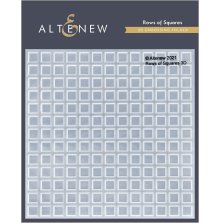 Altenew Embossing Folder - Rows of Squares 3D
