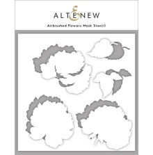 Altenew Stencil 6X6 - Airbrushed Flowers