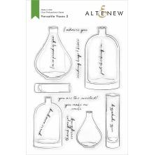 Altenew Clear Stamps 6X8 - Versatile Vases 2