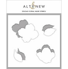 Altenew Stencil 6X6 - Zig Zag Floral Mask