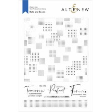 Altenew Clear Stamps 6X8 - Dots and Boxes