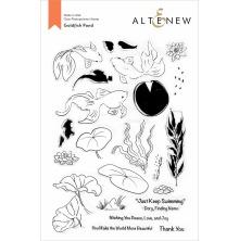 Altenew Clear Stamps 6X8 - Goldfish Pond