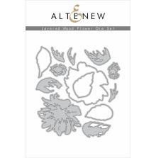 Altenew Die Set - Layered Wood Flower