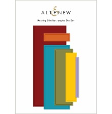 Altenew Die Set - Nesting Slim Rectangles
