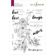 Altenew Clear Stamps 6X8 - Enchanted Roses
