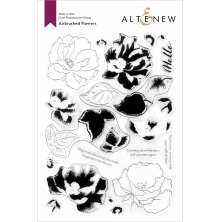 Altenew Clear Stamps 6X8 - Airbrushed Flowers