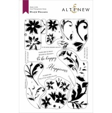 Altenew Clear Stamps 6X8 - Blissful Blossoms