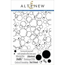 Altenew Clear Stamps 6X8 - Pattern Play - Circle