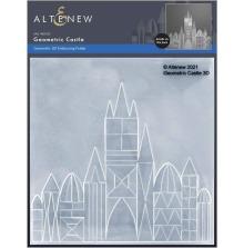 Altenew Embossing Folder - Geometric Castle 3D