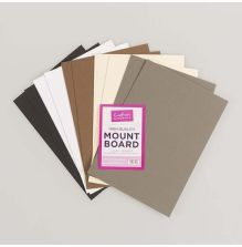 Crafters Companion High Quality A4 Mountboard 10/Pkg