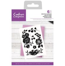 Crafters Companion Photopolymer Stamp Set - Beautiful Blossoms