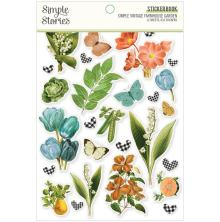 Simple Stories Sticker Book 4X6 12/Pkg - SV Farmhouse Garden