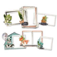 Simple Stories Layered Frames 6/Pkg - SV Farmhouse Garden