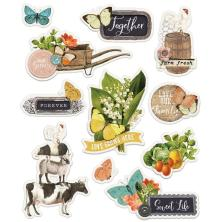Simple Stories Layered Stickers 11/Pkg - SV Farmhouse Garden
