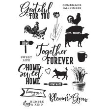 Simple Stories Clear Stamps - SV Farmhouse Garden