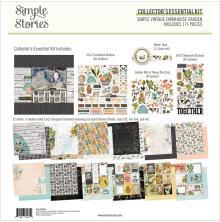 Simple Stories Collectors Essential Kit 12X12 - SV Farmhouse Garden