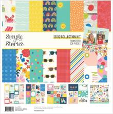 Simple Stories Collection Kit 12X12 - Sunkissed