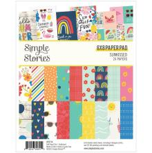 Simple Stories Double-Sided Paper Pad 6X8 - Sunkissed