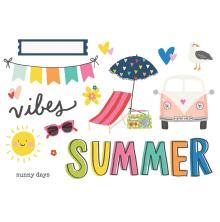 Simple Stories Simple Page Pieces - Sunkissed Summer Vibes