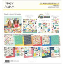 Simple Stories Collectors Essential Kit 12X12 - Sunkissed
