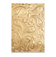 Sizzix 3-D Textured Impressions Embossing Folder - Paisley