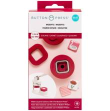 We R Memory Keepers Button Press Inserts - Square 31mm