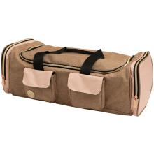 We R Memory Keepers Crafters Machine Tote - Taupe & Pink