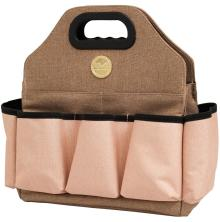We R Memory Keepers Crafters Tote Bag - Taupe & Pink