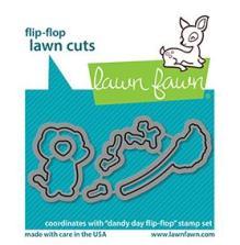 Lawn Fawn Dies - Dandy Day Flip-Flop
