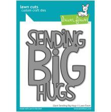 Lawn Fawn Dies - Giant Sending Big Hugs