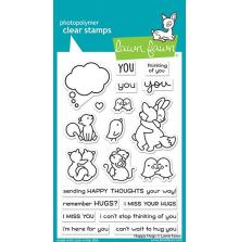 Lawn Fawn Clear Stamps 4X6 - Happy Hugs