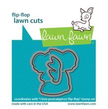 Lawn Fawn Dies - I Love You (Calyptus) Flip-Flop