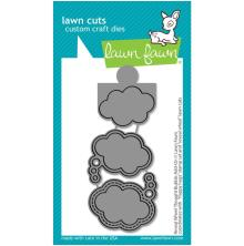 Lawn Fawn Dies - Reveal Wheel Thought Bubble Add-On
