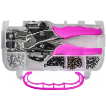 Crop-A-Dile Punch Kit - Pink