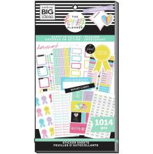 Me & My Big Ideas Happy Planner Sticker Value Pack - Happy In Action 1014