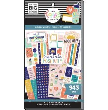 Me & My Big Ideas Happy Planner Sticker Value Pack - Good Vibes 943
