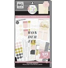 Me & My Big Ideas Happy Planner Sticker Value Pack - Fancy Florals 573
