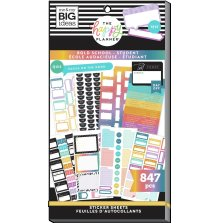 Me & My Big Ideas Happy Planner Sticker Value Pack - Bold School 847